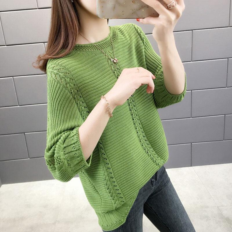 Pre order 14 Days JYS FashionKoreanStyleWomenKnitTopCollection4779 Green XL Col 5361
