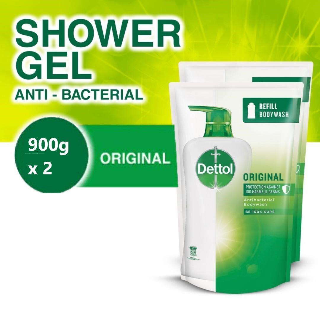 ** SUPERVALUE** DETTOL Body Wash 2 x 900g Refill Pack - Original