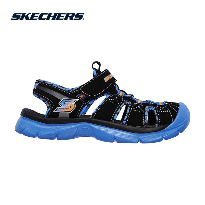 Skechers Relix Boys Lifestyle Shoe - 92189L-BKBL