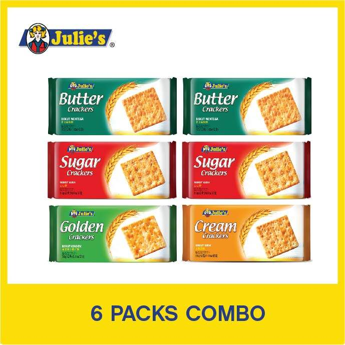 Julie's Crackers Combo Pack