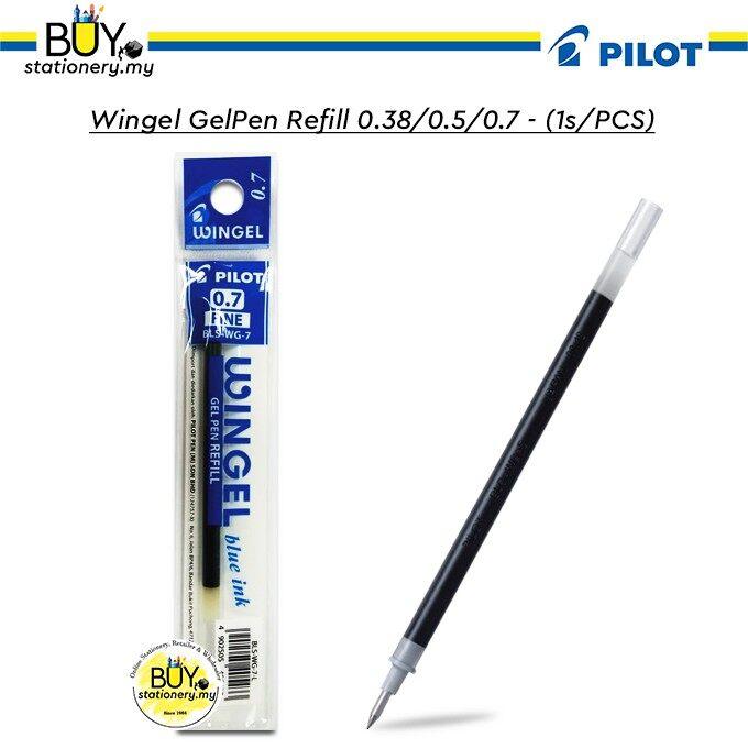 Pilot Wingel Gel Pen Refill 0.38/0.5/0.7 - (1s/PCS)