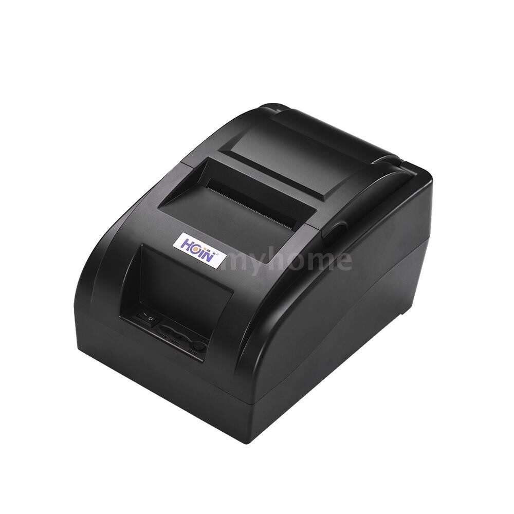 Printers & Projectors - HOIN High Quality PORTABLE 58mm WIRELESS BT Direct Thermal Receipt Printer with USB Cable Support - Computer & Accessories