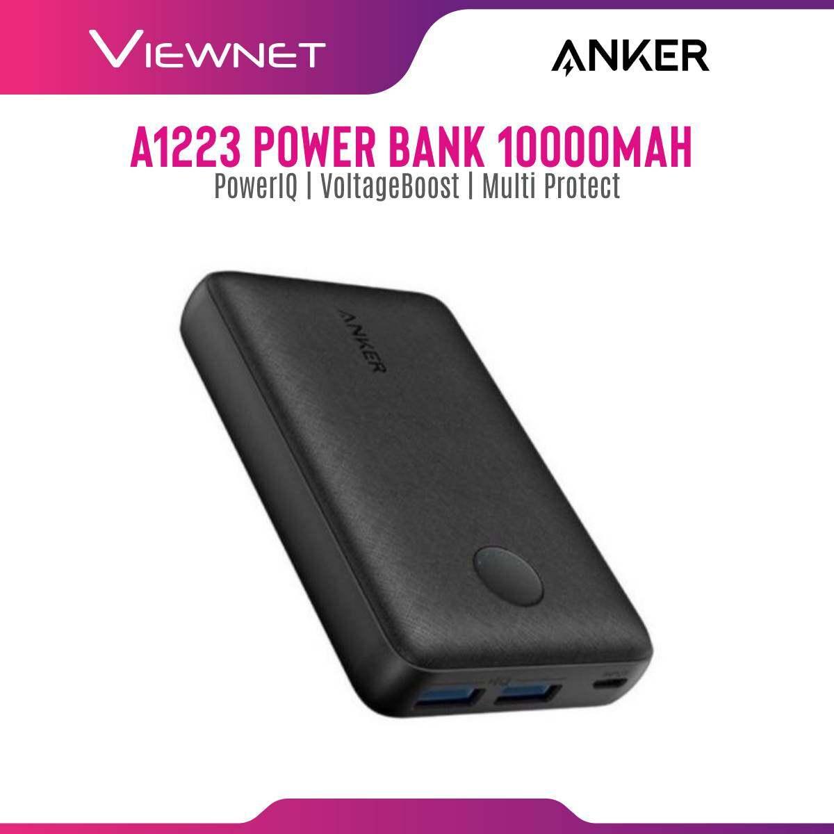 Anker A1223 PowerCore Select Power Bank (10000mAh/10W + 12W) Black
