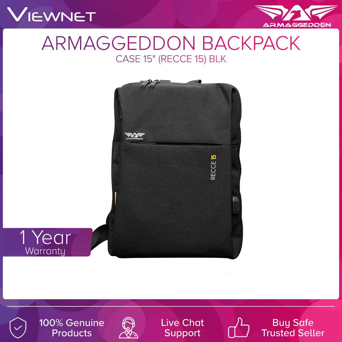 Armaggeddon Backpack 15.6'' (RECCE 15)