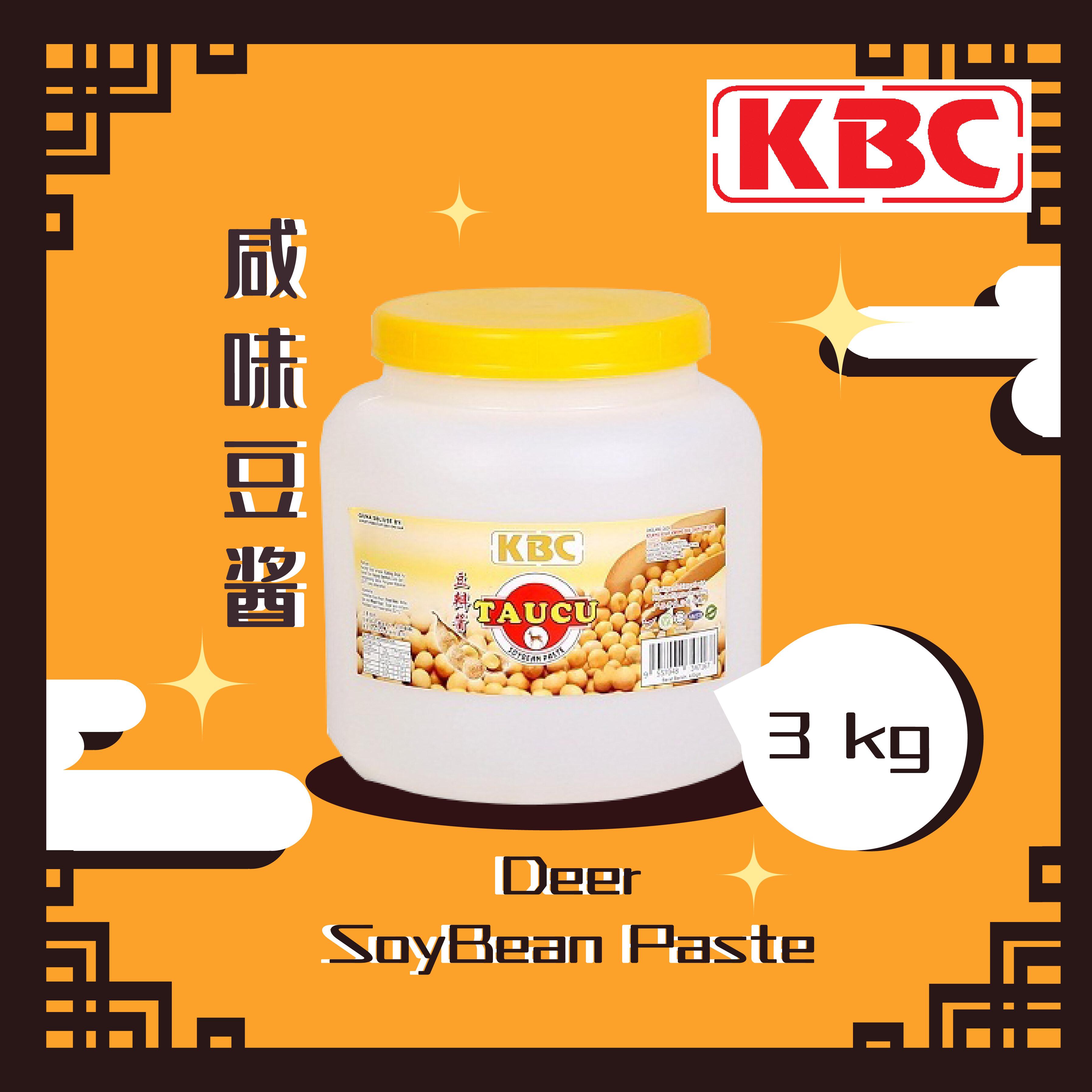 3KG Deer  Soy Bean Paste(3KG 咸味豆酱)