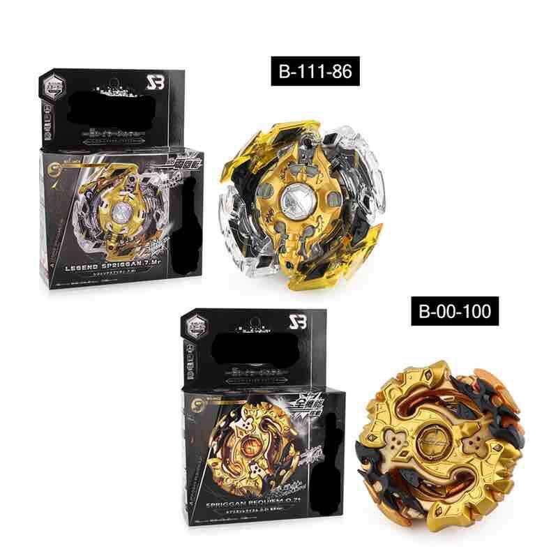 B-111-86 Original Launchers Beyblade Toy for sale Burst Starter B-111-86 Legend Springgan 7 Mr with Stater set High Performance Balance Top Takara Tomy Spining Top Toys for boys