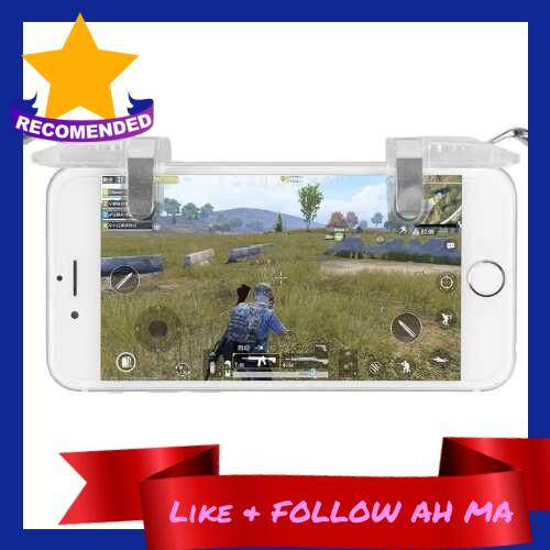 Best Selling Phone Shooting Game AccessoryPhone Game Trigger One Pair White (Standard)