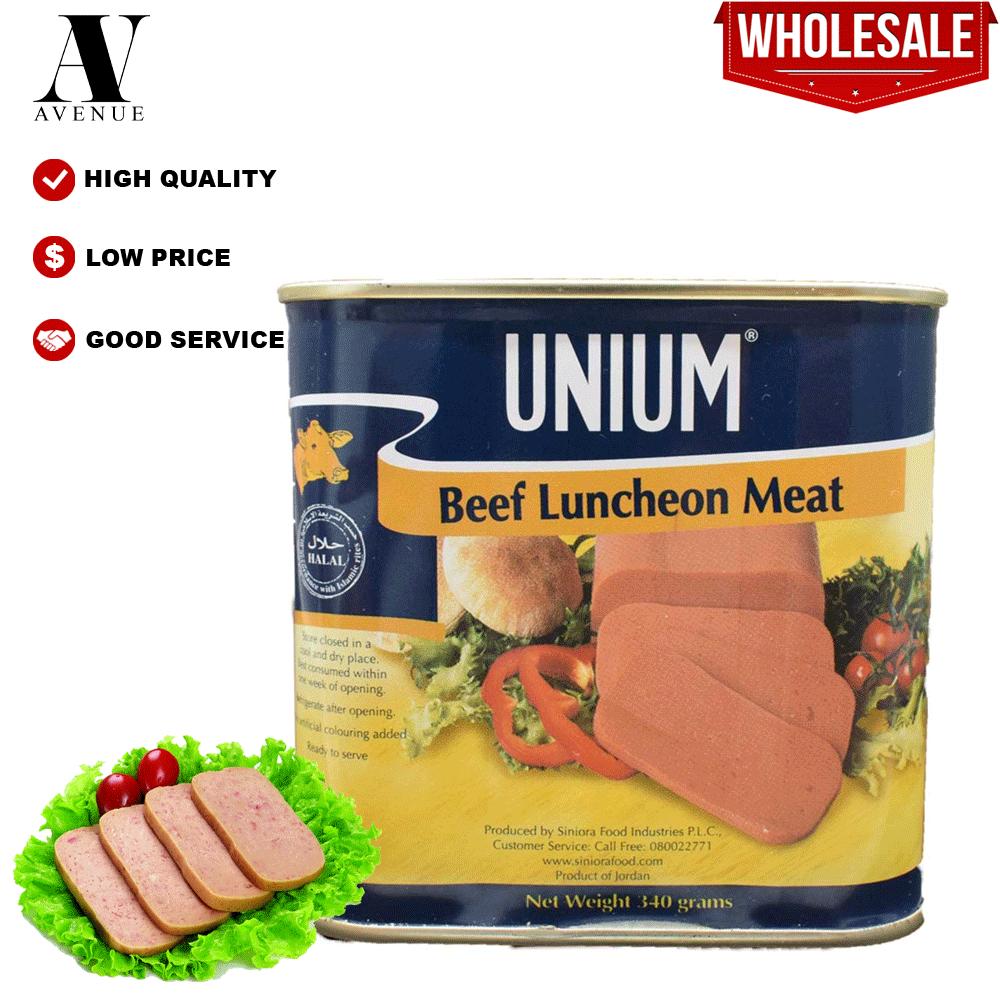 Unium Beef Luncheon Meat 340 لحم لانشون بقري