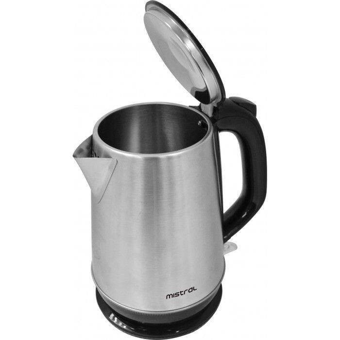 Mistral 1.7L Electrical Kettle Stainless Steel MEK125 with Bubble Wrap