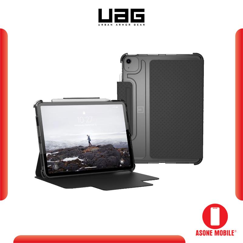 "Original UAG [U] Lucent for iPad Air 10.9"" (2020) / iPad Pro 11 2020 (2nd Gen) - Black/Ice Color"