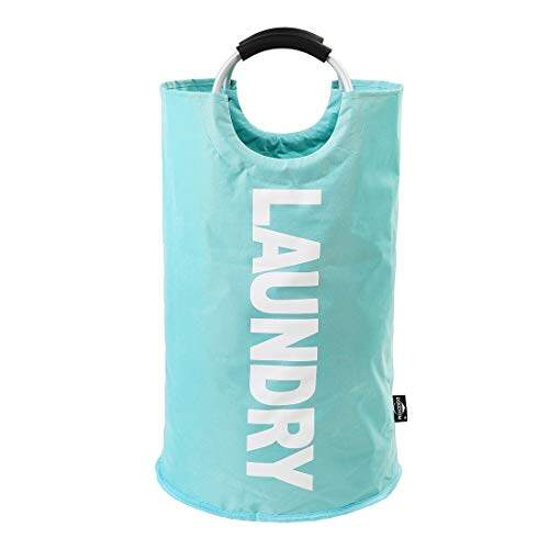 [Ready Stock] Oxford Collapsible/Foldable Laundry Basket 72Litre House Keeping Organizer[Local Fast Delivery]