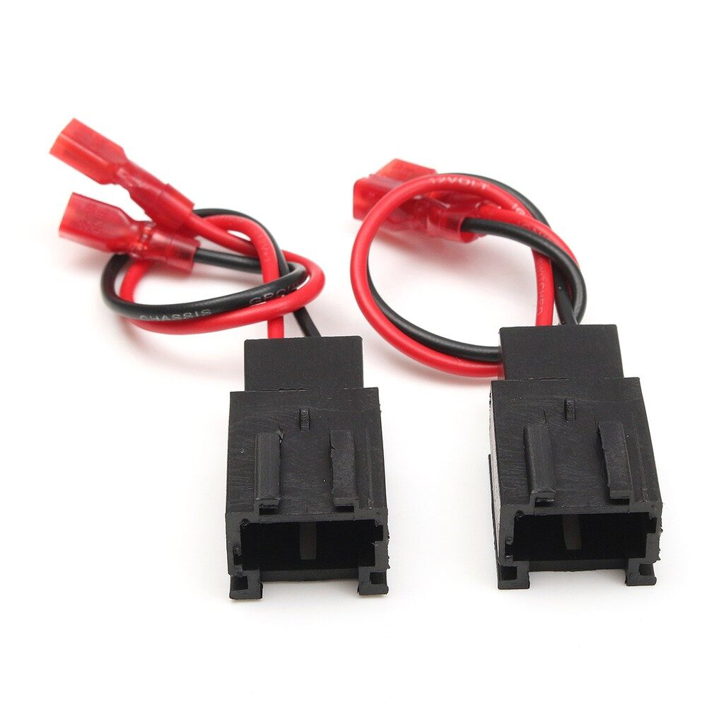 Brake Systems - Pair Speaker Adaptor Plug Connectors Wire for Peugeot 206 & Citroen C2 PC2-821 - Car Replacement Parts