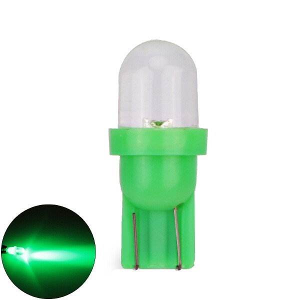 Moto Accessories - T10 W5W 194 Dashboard Instrument Bulb Motorcycle Fog Lamp DC12V Car Auto Light - COLORFUL / BLUE / RED / GREEN / WHITE