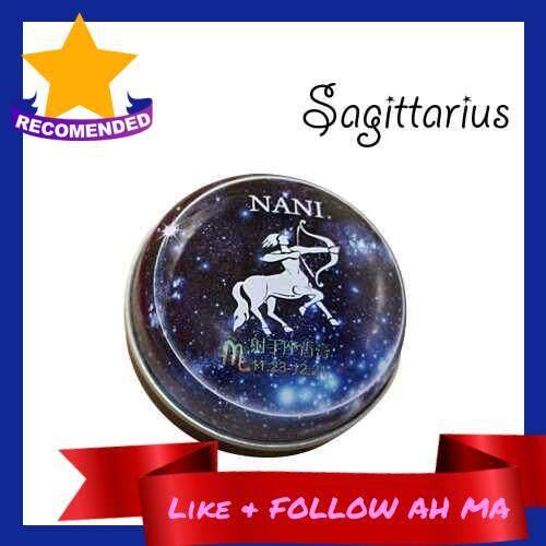 Best Selling 12 Signs Constellation Perfumes Unisex Zodiac Magic Solid Deodorant Solid Fragrance Portable Tin Box Balm For Women Men (Sagittarius) (9)