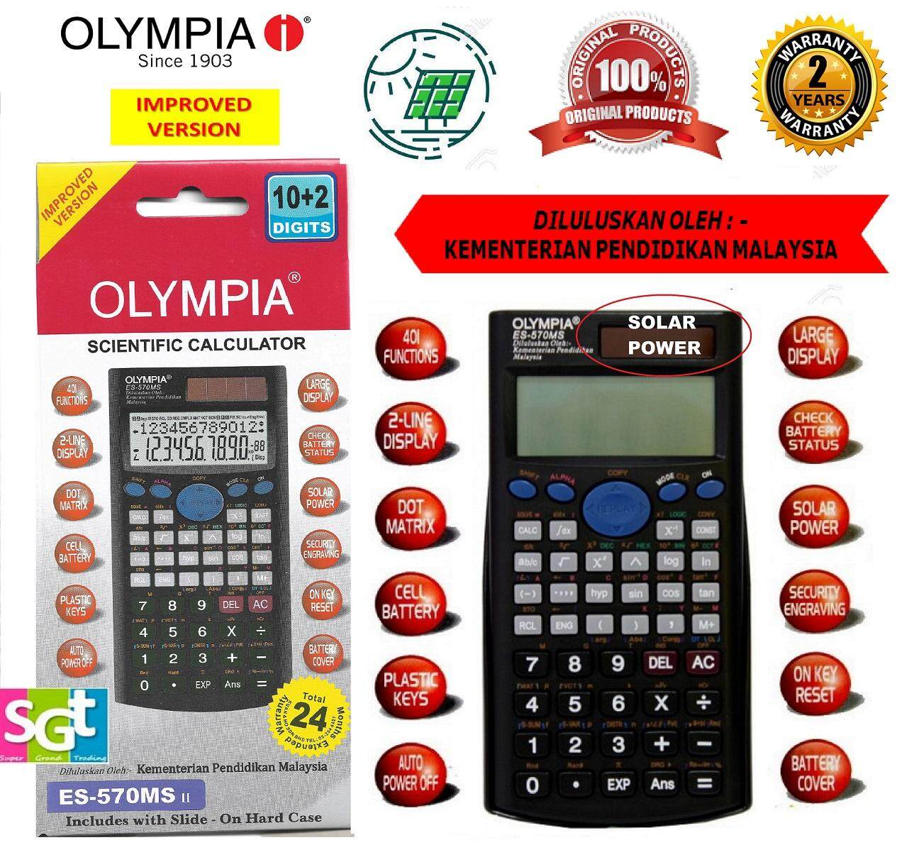 Olympia Scientific Calculator ES-570MS II