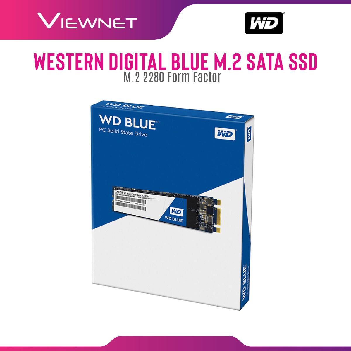 WD WESTERN DIGITAL SOLID STATE DRIVE WD BLUE PC SSD M.2 2280 SATA BLUE 250GB/500GB/1TB/2TB