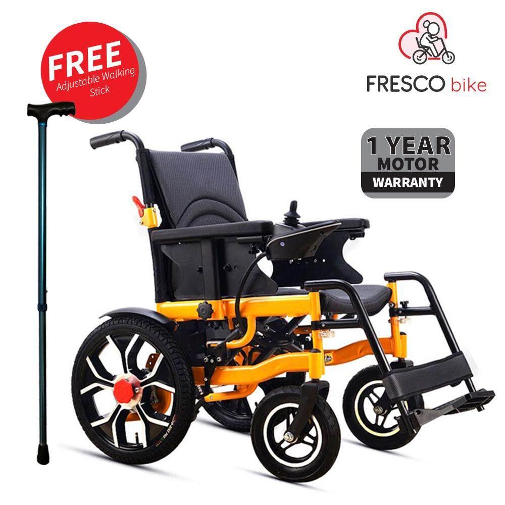 Fresco Electric Wheel Chair Aluminum Alloy Hub / Kerusi Roda Elektrik