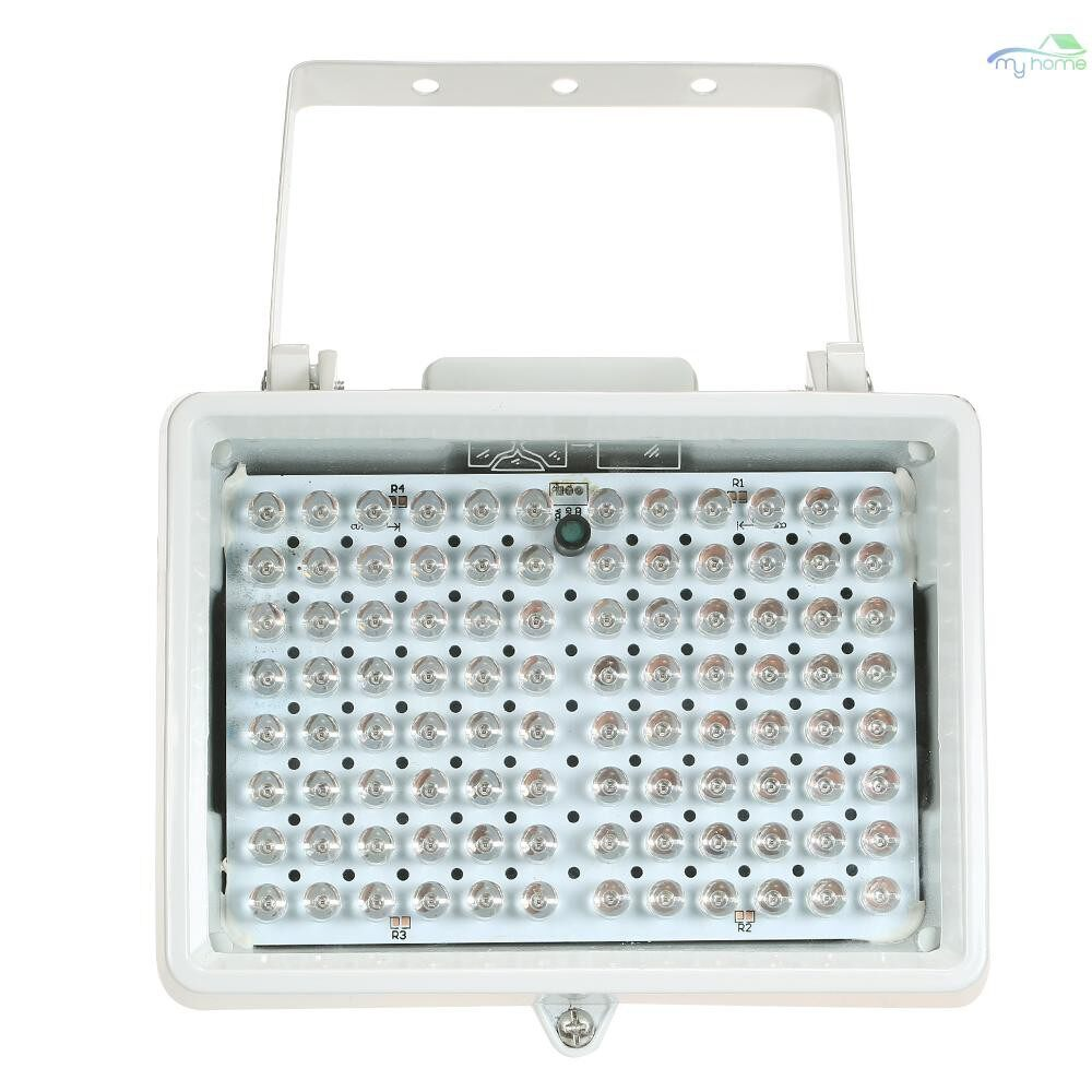 Monitors - 96 LEDS IR Illuminator Array Infrared Lamps Night Vision Outdoor Waterproof For CCTV Security Camera - WHITE