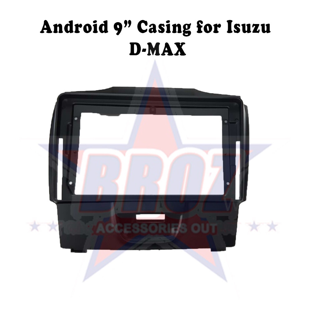 9 inches Car Android Player Casing for Isuzu D-max
