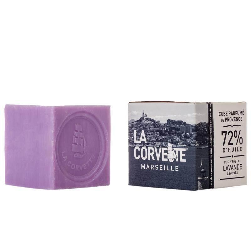Cube parfum de Provence Lavande 100g
