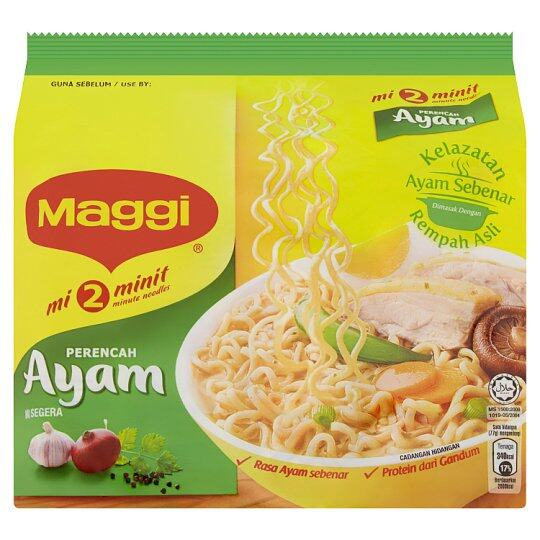 MAGGI 2 MINUTES CHICKEN INSTANT NOODLE 5 X 77G
