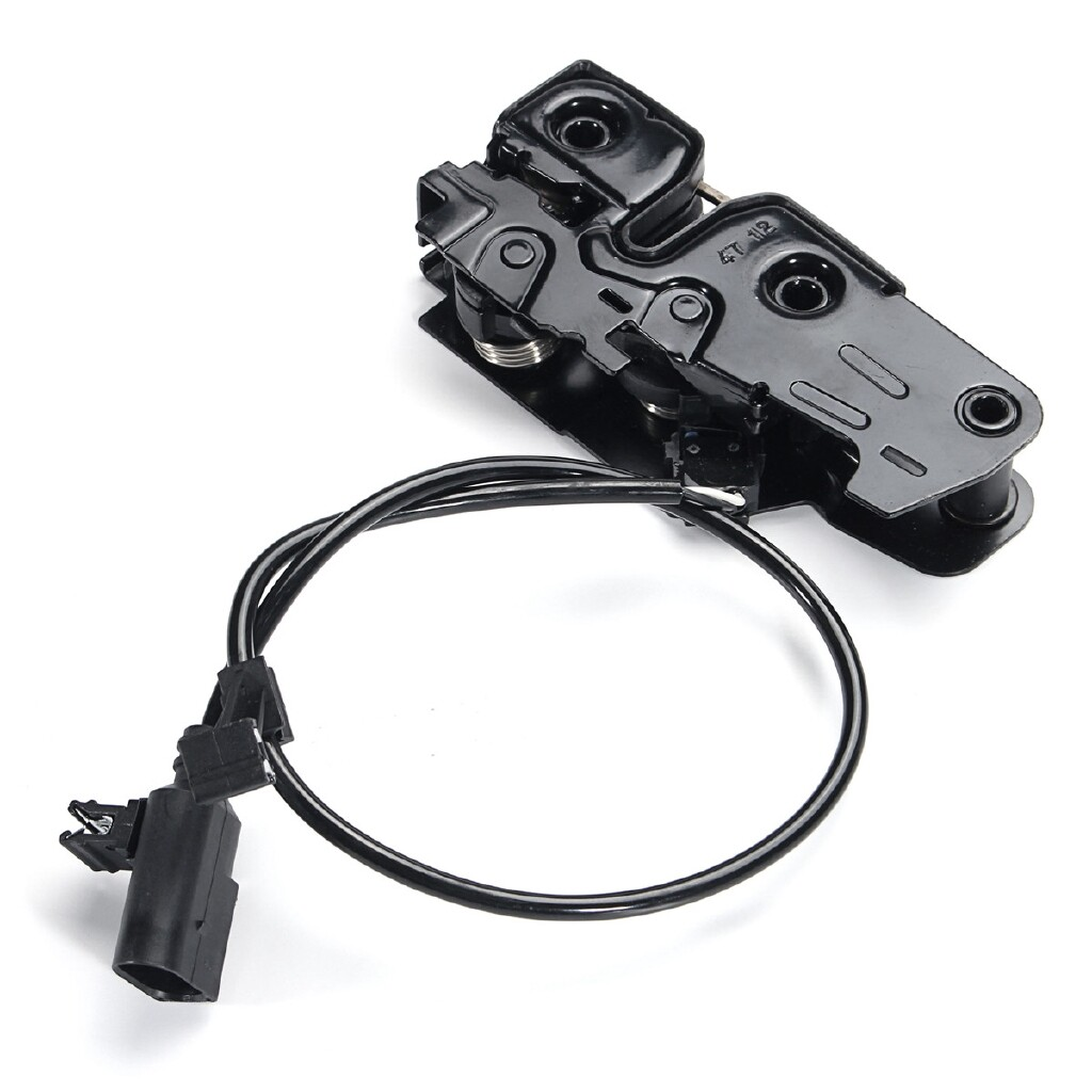 Automotive Tools & Equipment - Under Hood Latch Lock With Sensor For AUDI A4 Allroad Quattro B8 S4 A5 S5 Q5 R8 - Car Replacement Parts