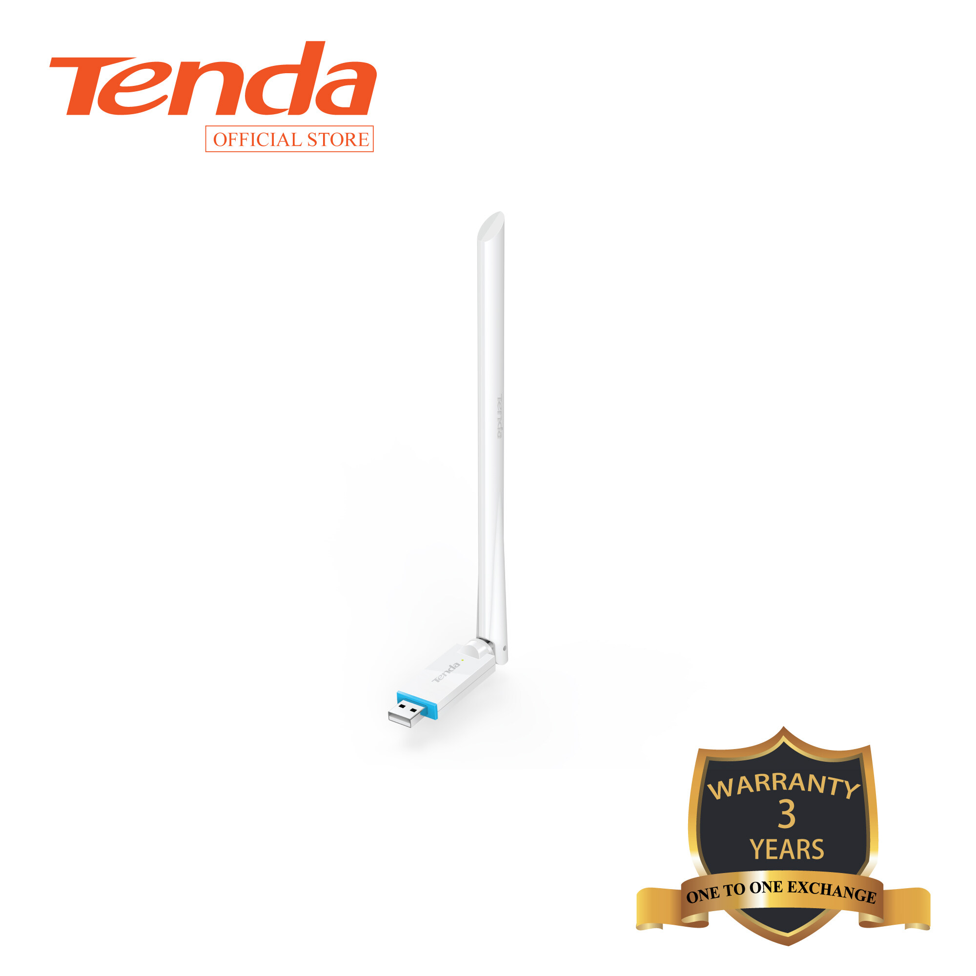 Tenda U2  N150Mbps Wireless Wifi USB Adapter