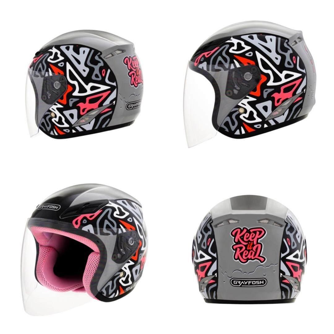 Grayfosh G6 Kids Free Size 57_58cm Helmet
