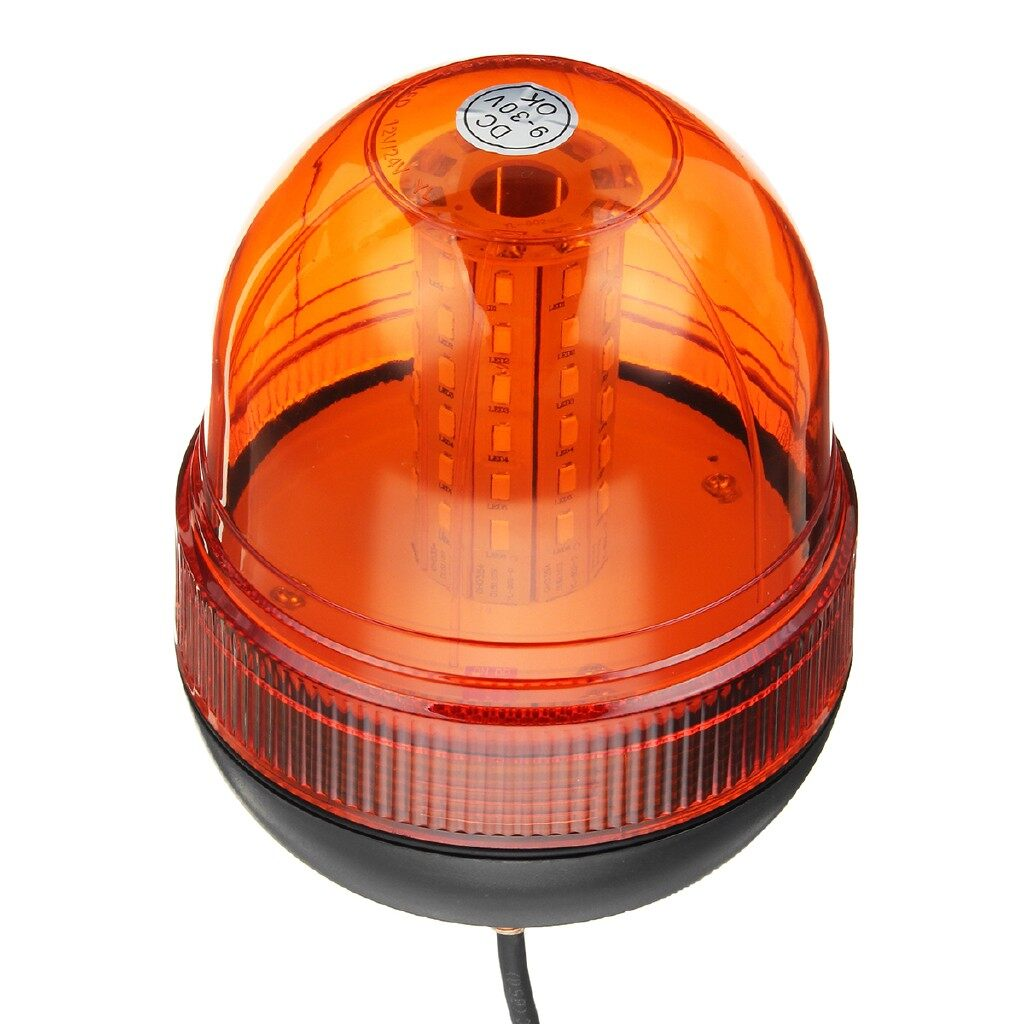 Car Lights - Emergency Light 12-24V 60LED Rotating Emergency Light Strobe Beacon Flashing Warning Lamp - Replacement Parts
