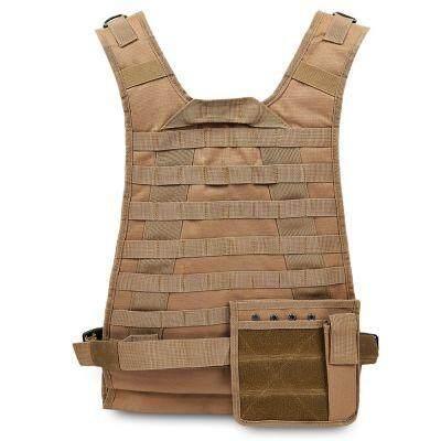 Outdoor Molle Amphibious Module Combat Tactical Vest (CAMEL BROWN)