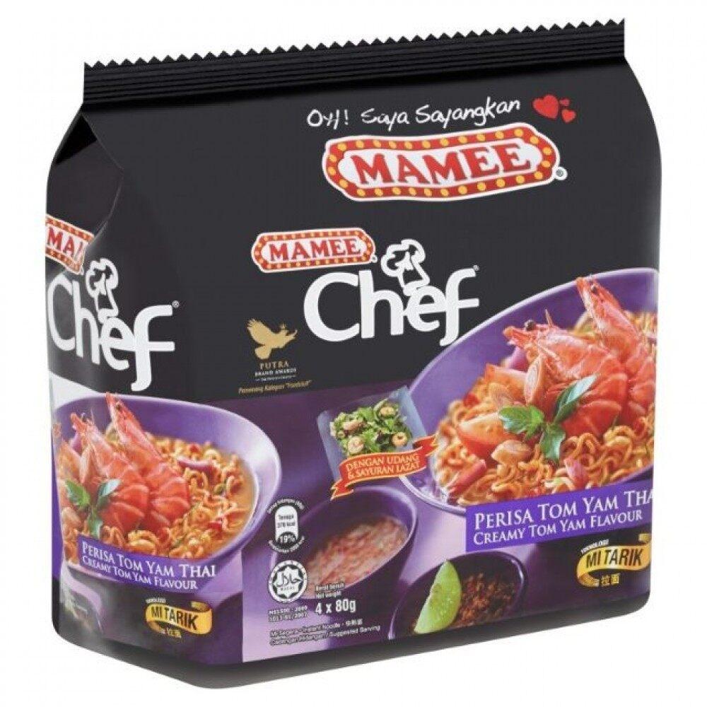 MAMEE CHEF TOM YAM THAI 4 X 88G