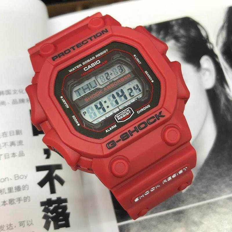 Fully Autolight Full Set_Casio_G-Shock_King Stop Watch Function Alarm & World Time With Genuine Gift Box For Men & Women Batter Then Picture Good Quality Sprot Design Shock Resistant 200m Water Resistant Ready Stock