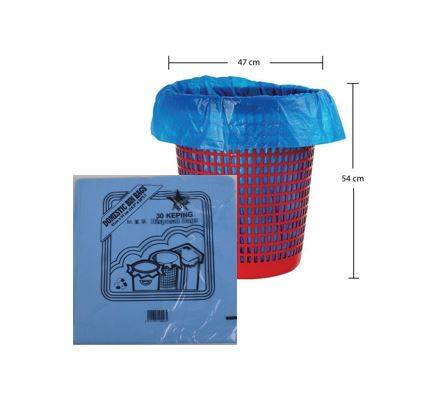 Garbage Bag Size S (47cm X 54cm) (30PCS)