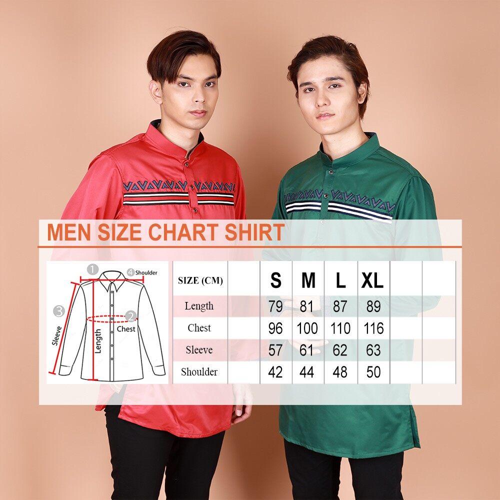 2021 Raya Collection Immad Long Sleeve Button Modern Kurta Non Iron Muslimin Fashion BEST SELLER