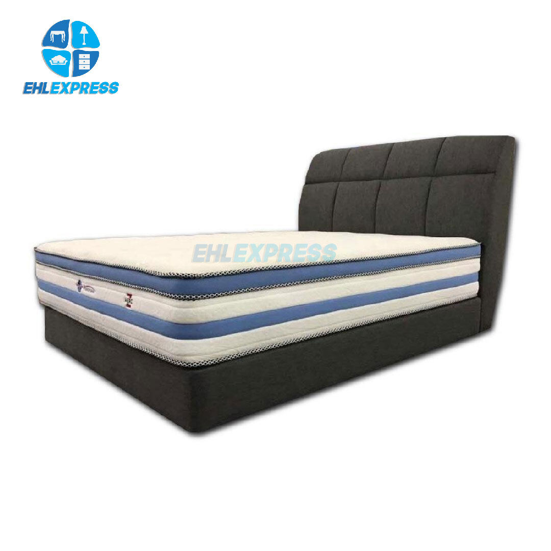 EHL EXPRESS Mattress Aerofoam-z with 12 inches pocket spring technology
