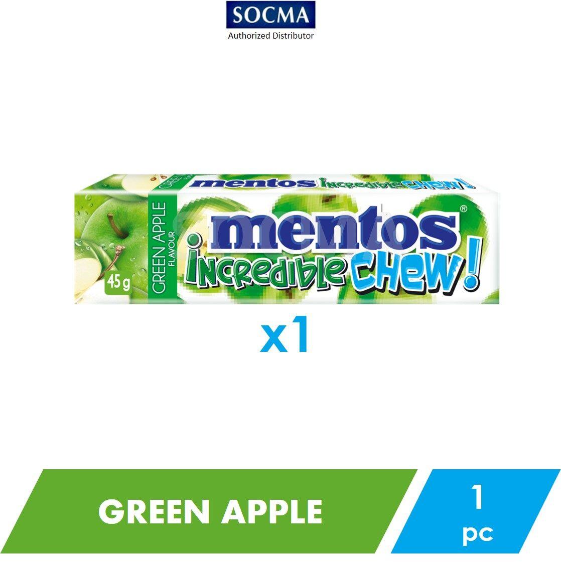 Mentos Incredible Chew Green Apple 45g [1]