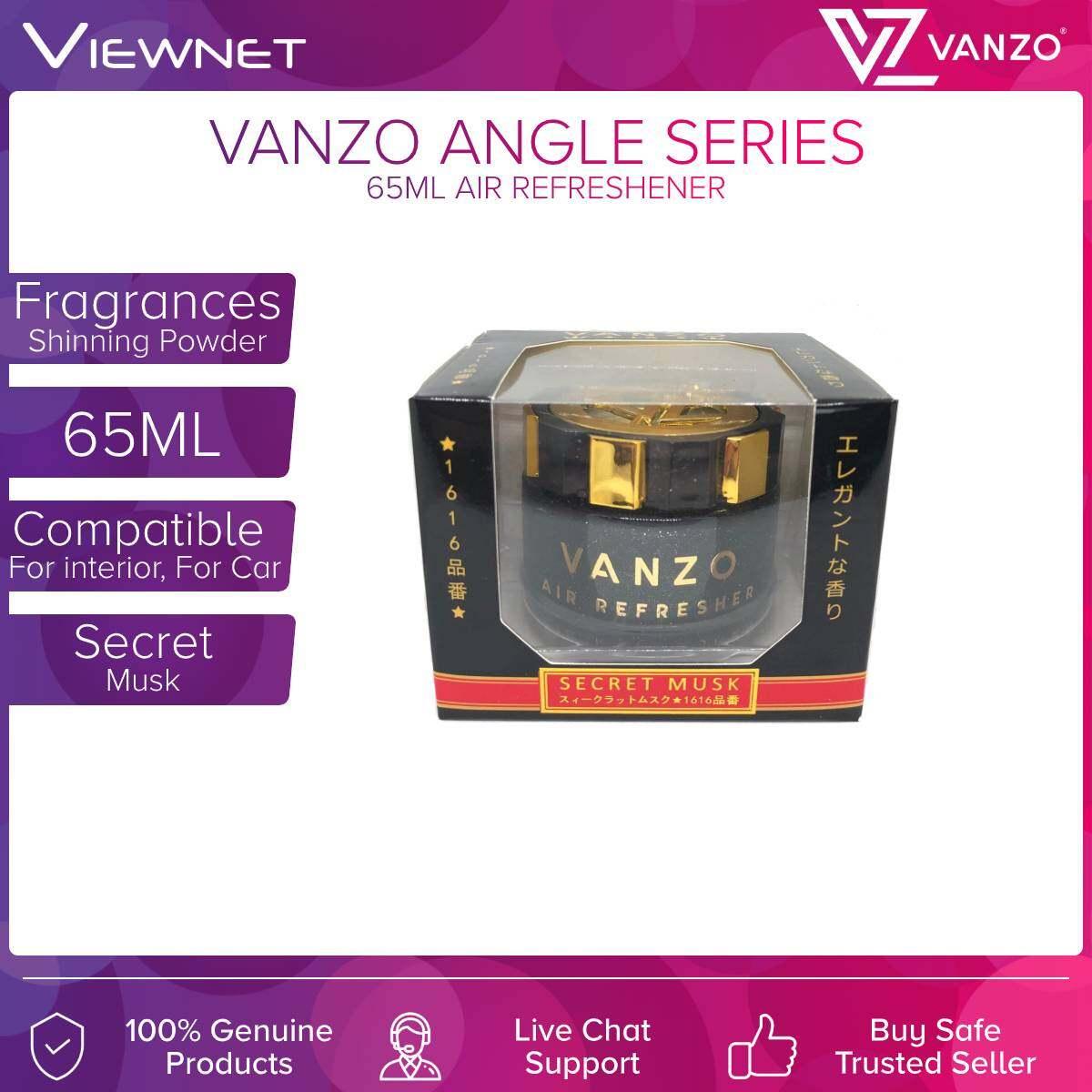 Vanzo Angle Series 65ML Air Refreshener (Secret Musk) (English Pear & Freesia) (Velvet Musk)