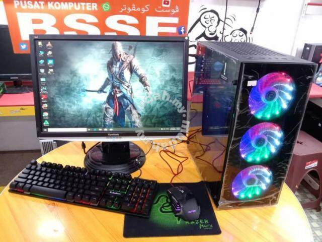 Imperion Perfect Shield E_1 Computer Gaming Case With 4 LED Casing Fan
