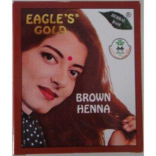 Eagle's Gold Brown Henna Inai Hair Colour