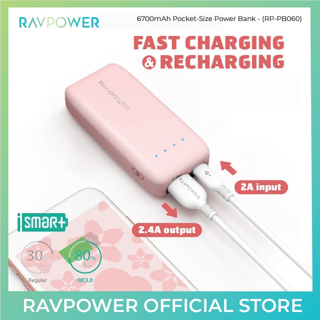 RAVPower Ace Power Bank - 6700mAh (RP-PB060)