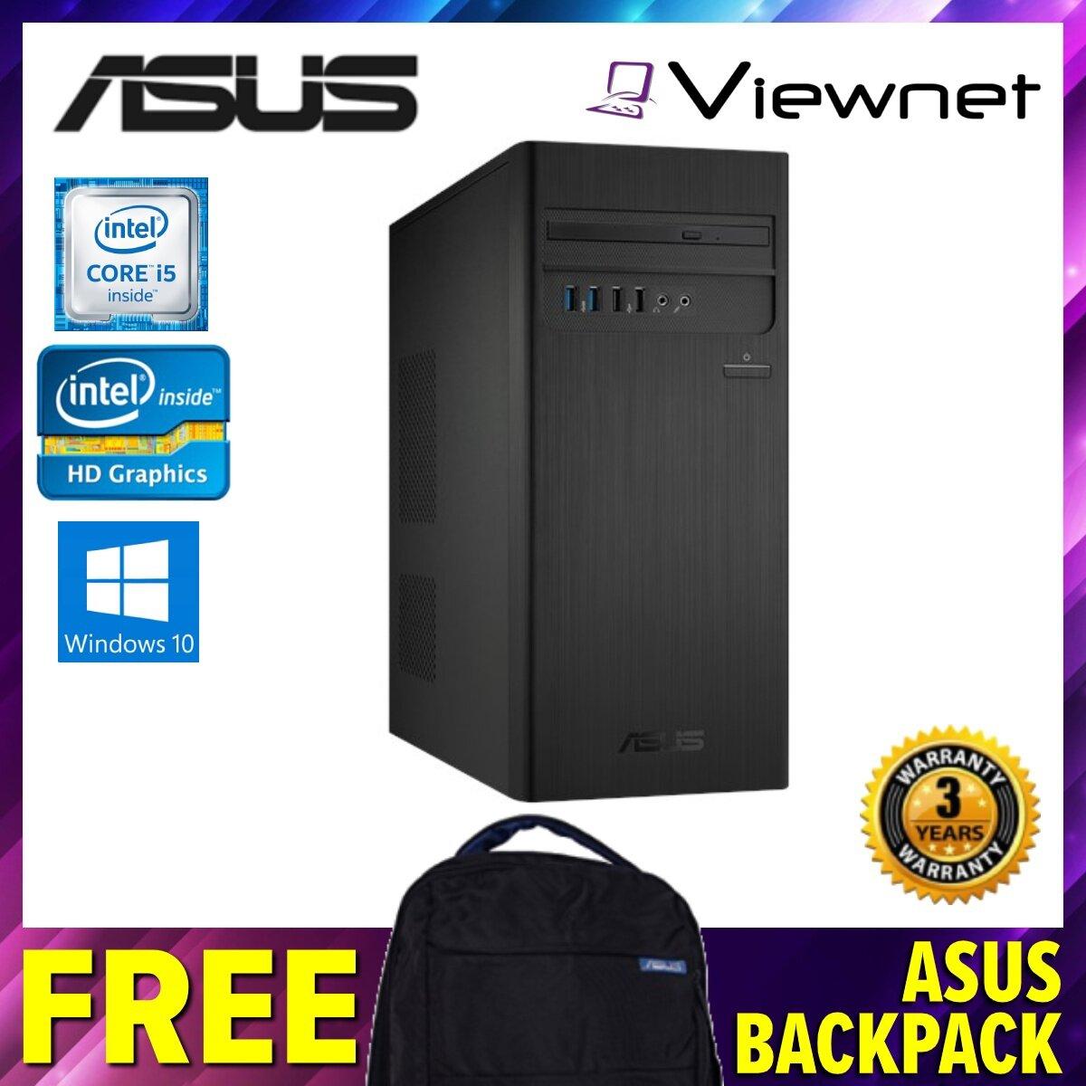 Asus S340MC-I58400073T Desktop PC ,Intel Core I5-8400, 4GB DDR4, 1TB, Intel HD, Windows 10
