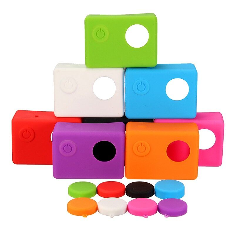 Camera Accessories - Camera Accessories Soft Silicone Protective Cover Soft Rubber Shell Accessories - BLACK / BLUE / PINK / ORANGE / WHITE / PURPLE / RED / GREEN