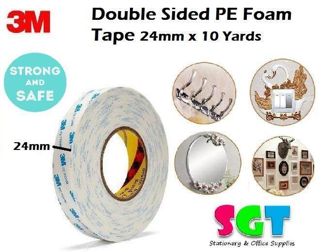 3M Double Sided PE Foam Tape 24mm x 10 Yards