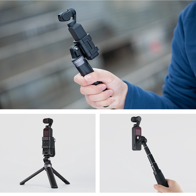 Sports & Action Cameras - PGYTECH OSMO Pocket Mount Adapter Connector For DJI Gimbal Action Camera - Drones