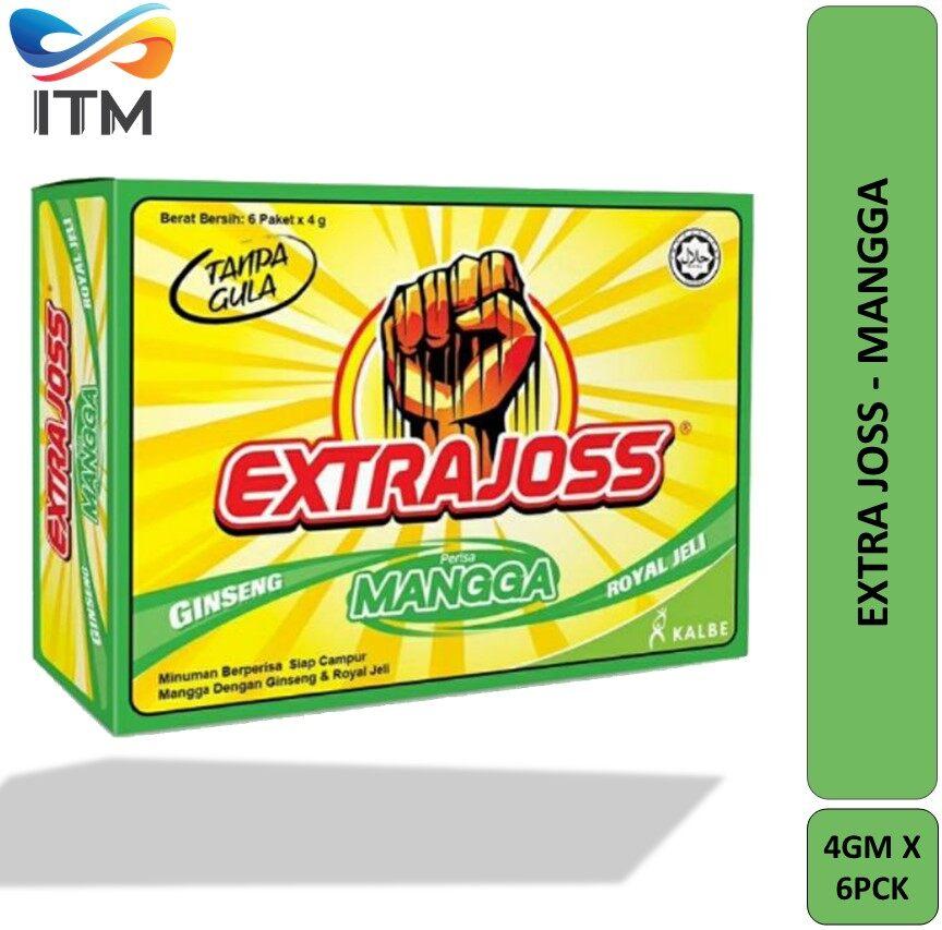 EXTRA JOSS MANGGA 4GM SACHET PACK X 6 PICS