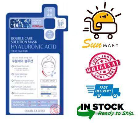 [100% ORIGINAL] Double Care Solution Mask Hyaluronic Acid 1 Piece
