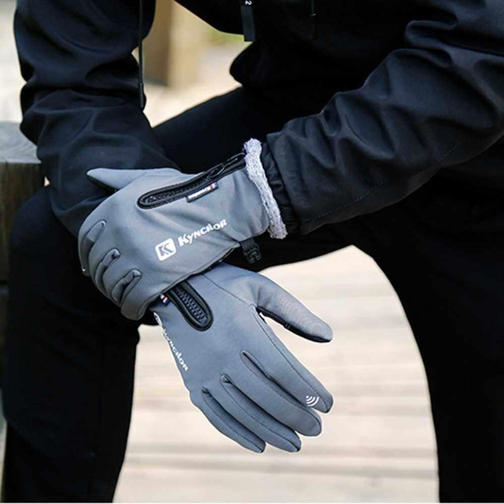 Best Selling KYNCILOR Unisex Winter Fleece Thermal Glove (Grey)