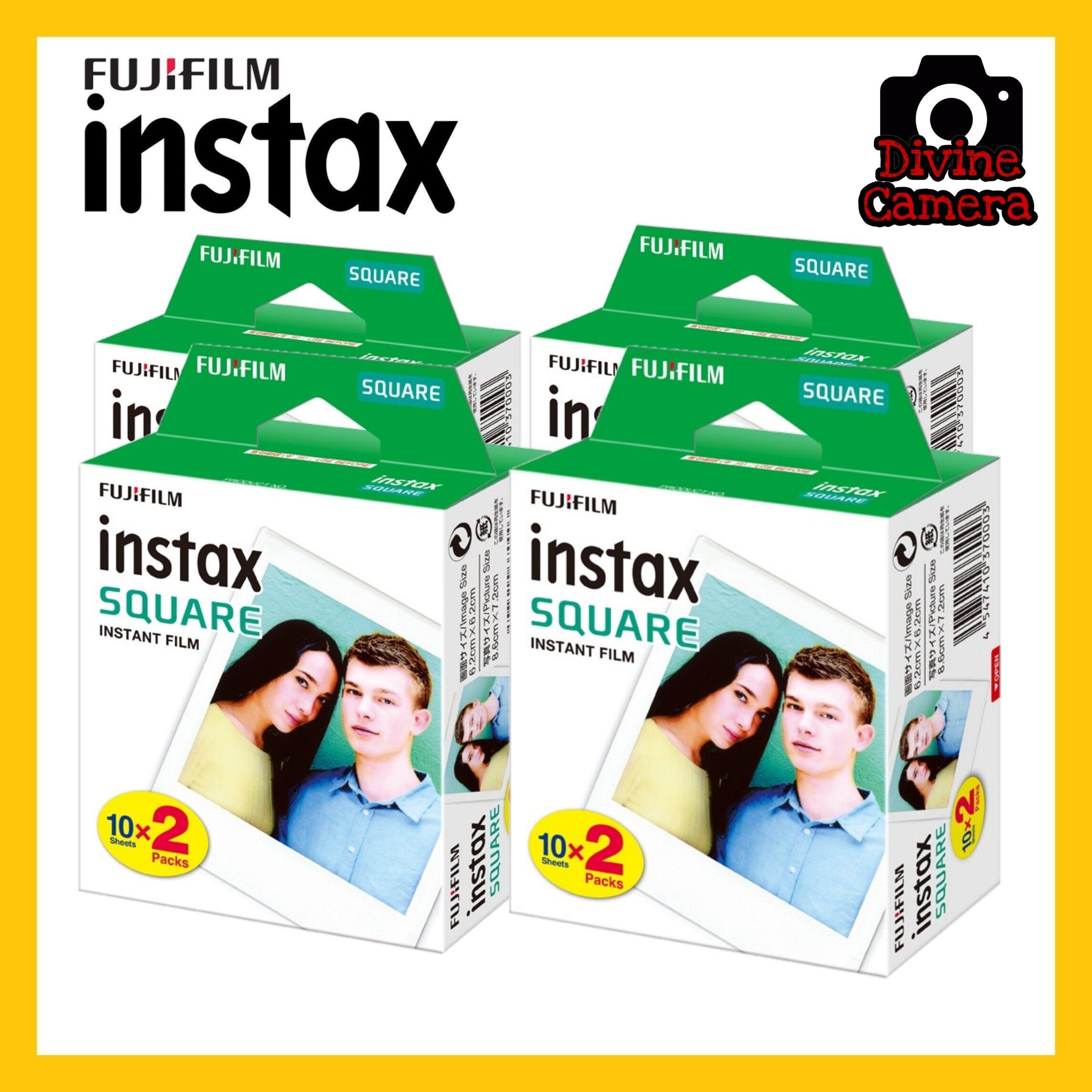 FUJIFILM INSTAX SQUARE Instant Film (20 Sheets)