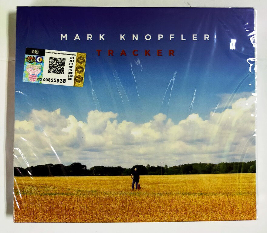 Mark Knopfler Tracker Deluxe Edition with 4 Bonus Tracks CD Original New And Sealed