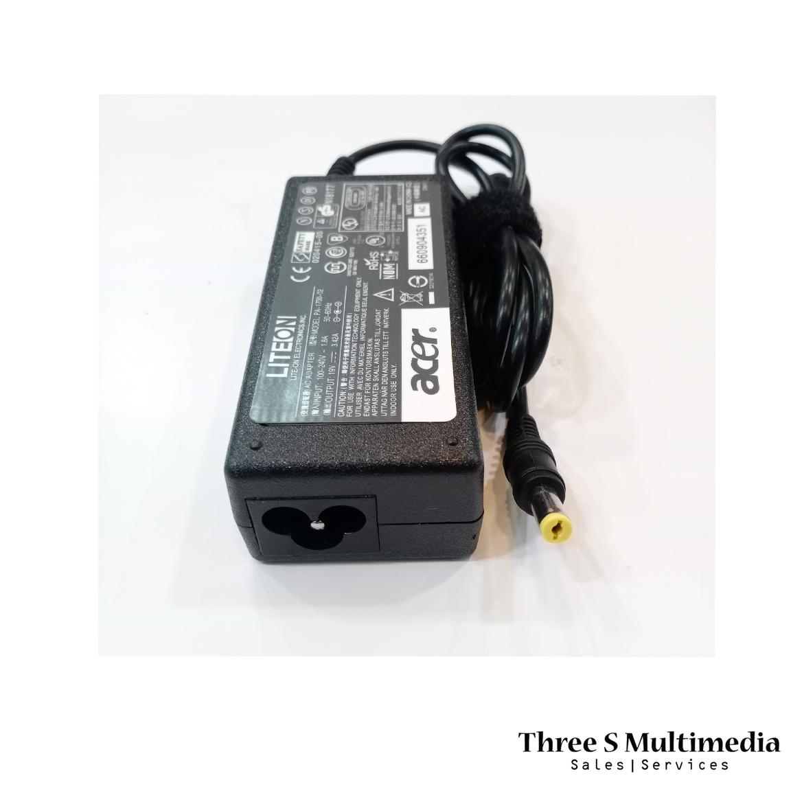 ACER 19V 3.42A ADAPTER FOR LAPTOP MODEL PA-1700-02